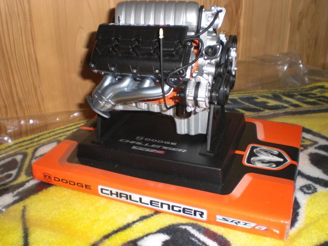 22 Dodge Challenger SRT-8 リバティーモデルエンジン